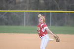 Oxford High vs. Lafayette High's Kelsey Kesler in softball in Oxford, Miss. on Tuesday, March 6, 2012.