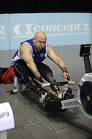 Birmingham, Great Britain,  Men TA Gold Medallist, Mark FOSBROOK, Oswestry, competing at the 2008 British Indoor Rowing Championships, National Indoor Arena. on  Sunday 26.10.2008 . [Photo, Peter Spurrier/Intersport-images] .