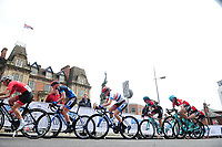 Picture by Alex Whitehead/SWpix.com - 11/05/2017 - Cycling - Tour Series Round 2 -  Stoke on Trent - Matrix Fitness Grand Prix Series Women's Race, Stoke on Trent - England - Eileen Roe