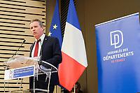 Nicola Dupont-Aignan - ASSEMBLEE DES DEPARTEMENTS DE FRANCE AVEC LES CANDIDATS A L'ELECTION PRESIDENTIELLE
