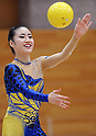 "Kotono Tanaka, MARCH 23, 2012 - Rhythmic Gymnastics : Japanese Rhythmic Gymnastics Team ""FAIRY JAPAN POLA"" open the practice for press at Japan Sports Institute of Science in Itabashi, Japan. (Photo by Atsushi Tomura /AFLO SPORT) [1035]"