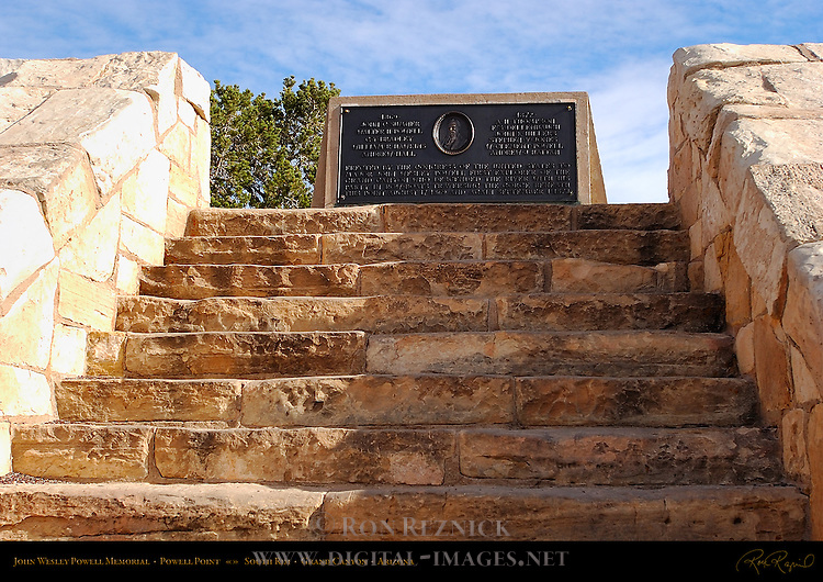 John Wesley Powell Memorial, Powell Point, South Rim, Grand Canyon, Arizona
