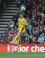 Burnley's Stephen Ward in action during todays match  <br /> <br /> Photographer Ian Cook/CameraSport<br /> <br /> The Premier League - Bournemouth v Burnley - Saturday 13th May 2017 - Vitality Stadium - Bournemouth<br /> <br /> World Copyright &copy; 2017 CameraSport. All rights reserved. 43 Linden Ave. Countesthorpe. Leicester. England. LE8 5PG - Tel: +44 (0) 116 277 4147 - admin@camerasport.com - www.camerasport.com