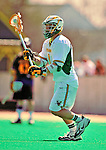 19 April 2009: University of Vermont Catamount Midfielder Ryan Gillette, a Junior from Lowville, NY, in action against the University at Albany Great Dames on Moulton Winder Field in Burlington, Vermont. The Cats fell to the Danes 9-6 in Vermont's last home game of the 2009 season. Mandatory Photo Credit: Ed Wolfstein Photo
