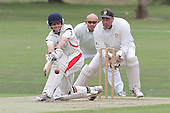 Simon Savides in batting action for Hornchurch - Hornchurch CC (batting) vs Gidea Park & Romford CC - Essex Cricket League - 20/08/11 - MANDATORY CREDIT: Gavin Ellis/TGSPHOTO - Self billing applies where appropriate - 0845 094 6026 - contact@tgsphoto.co.uk - NO UNPAID USE.