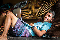 Namotu Island, Fiji (Thursday, June 11, 2015) Adriano de Souza (BRA) - A lay day has been called at the Fiji Pro today, stop No. 5 on the 2015 WSL Championship Tour, with building three-to-four foot surf on offer at Cloudbreak and a possible start to competition tomorrow.<br /> Photo: joliphotos.com