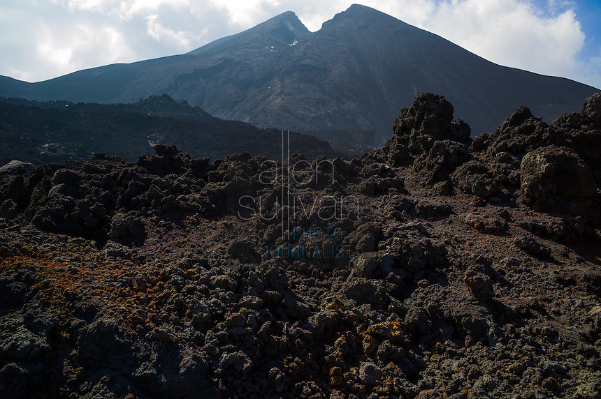 Volcán Pacaya, Escuintla, Guatemala in March 2012.