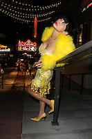 AUG 27 Bai Ling Weird Trip Down Hollywood Boulevard
