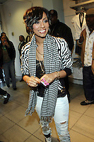 Vocalist Keri Hilson in-store signing to promote her debut album ' In a Perfect world ' at Wet Seal