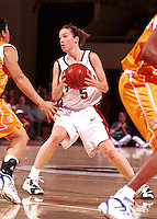 STANFORD, CA - NOVEMBER 26: Christina Batastini of the Stanford Cardinal during Stanford's 79-73 loss against the Tennessee Volunteers on November 26, 1999 at Maples Pavilion in Stanford, California.