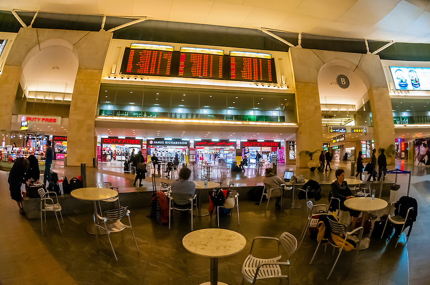 Duty Free Rotunda, Ben Gurion International Airport, Israel.