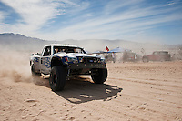 Jesse Jones trophy truck arrives at finish of 2011 San Felipe Baja 250