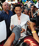 After Earth Day with Will Smith and Jaden Smith at the Miami Science Museum and Planetarium