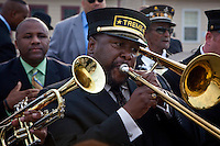 Wendell Pierce in the pilot episode of HBO's 'Treme' created by David Simon and Eric Overmyer.