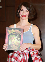 NOV 22 Evangeline Lilly at an in-store signing of her children's book