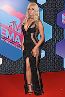 Bebe Rexha, MTV EMA 2016 Host<br /> 2016 MTV EMAs in Ahoy Arena, Rotterdam, The Netherlands on November 06, 2016.<br /> CAP/PL<br /> &copy;Phil Loftus/Capital Pictures /MediaPunch ***NORTH AND SOUTH AMERICAS ONLY***
