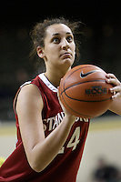 CORVALIS, OR - JANUARY 22:  Ashley Cimino of the Stanford Cardinal during Stanford's 85-57 win over the Oregon Ducks on January 22, 2009 in Eugene, Oregon.