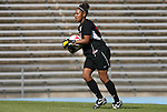 02 November 2008: Miami's Vikki Alonzo. The University of North Carolina Tar Heels defeated the University of Miami Hurricanes 1-0 at Fetzer Field in Chapel Hill, North Carolina in an NCAA Division I Women's college soccer game.
