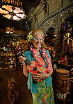 Store manager Hazel Quire at the Mai Kai Restaurant in Fort Lauderdale. She has been working there since 1982. This is for Florida Find on home decor items in the gift shop. on September 23, 2009.