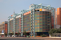 Multi-storey car park at Grunerstrasse near Alexanderplatz, Berlin, Germany. Picture by Manuel Cohen