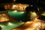 Q1 swiming pools at night