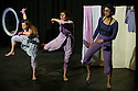 """London, UK. 05/07/11. Linda's Purple Ladies in """"Bewitched"""" as part of the Jacksons Lane """"Postcards Festival""""."""