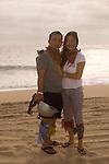 Couple on the playa near Migrino, Baja California, Mexico