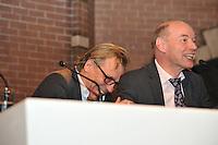 VOETBAL: ABE LENSTRA STADION: HEERENVEEN: 14-01-2014, Nieuwjaarsreceptie, forum: Jan Mulder, Wim Anker, ©foto Martin de Jong