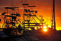 Fishing boats at Honokahau harbor, Kona, Big Island