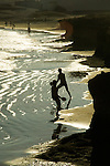 Holidaymakers playing beach tennis.El Medano,Tenerife, Canary islands, Spain,