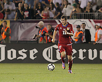 Czech Republic midfielder Daniel Pudil (11) at midfield. In the Send Off Series, the Czech Republic defeated the US men's national team, 4-2, at Rentschler Field in East Hartford, Connecticut, on May 25, 2010.