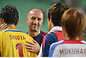 Ranko Popovic (FC Tokyo),.MAY 16, 2012 - Football / Soccer :.F.C.Tokyo head coach Ranko Popovic greets his players after the AFC Champions League Group F match between Ulsan Hyundai FC 1-0 F.C.Tokyo at Ulsan Munsu Football Stadium in Ulsan, South Korea. (Photo by Takamoto Tokuhara/AFLO)