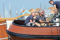 ZEILEN: STAVOREN: IJsselmeer, 26-07-2014, SKS skûtsjesilen, Stavoren, skûtsje Súdwesthoek, schipper Auke de Groot, ©Martin de Jong