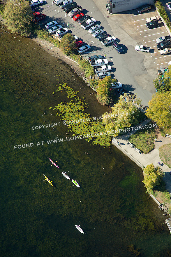 Site of future Portage Bay Waterfront Park, Seattle, WA: Sept., 2016