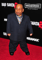 NEW YORK,NY November 015: Tony Cox attend the 'Bad Santa 2' New York premiere at AMC Loews Lincoln Square 13 theater on November 15, 2016 in New York City...@John Palmer / Media Punch