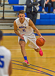 22 November 2015: Yeshiva University Maccabee Forward Dean Pienica, a Junior from Tel Aviv, Israel, in first half action against the Hunter College Hawks at the Max Stern Athletic Center  in New York, NY. The Maccabees defeated the Hawks 81-71 in non-conference play, for their second win of the season. Mandatory Credit: Ed Wolfstein Photo *** RAW (NEF) Image File Available ***