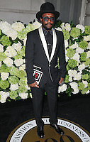 Will.i.am ( William Adams ) at the LFW s/s 2017 Business of Fashion BoF500 gala dinner, The London Edition Hotel, Berners Street, London, England, UK, on Monday 19 September 2016.<br /> CAP/CAN<br /> &copy;CAN/Capital Pictures /MediaPunch ***NORTH AND SOUTH AMERICAS ONLY***