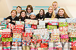 Nohoval NS Students with their Annual Shoe Box appeal on Friday