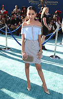 """HOLLYWOOD, CA - May 18: Isabella Alvarez, At Premiere Of Disney's """"Pirates Of The Caribbean: Dead Men Tell No Tales"""" At Dolby Theatre In California on May 18, 2017. Credit: FS/MediaPunch"""
