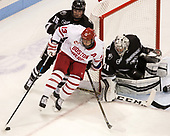 Anthony Florentino (PC - 16), Nikolas Olsson (BU - 13), Hayden Hawkey (PC - 31) - The Boston University Terriers tied the visiting Providence College Friars 2-2 on Saturday, December 3, 2016, at Agganis Arena in Boston, Massachusetts.