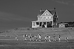 Historical Home on Whidbey Island with kids taking soccer classes Fort Casey Whidbey Island State Park Washington State USA