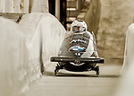 8 January 2016: Oskars Kibermanis, piloting his 2-man bobsled for Latvia, enters the Chicane straightaway on his first run, ending the day with a combined 2-run time of 1:51.48 and earning a 10th place finish at the BMW IBSF World Cup Championships at the Olympic Sports Track in Lake Placid, New York, USA. Mandatory Credit: Ed Wolfstein Photo *** RAW (NEF) Image File Available ***