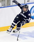 Austin Block (UNH - 3) - The University of New Hampshire Wildcats defeated the Miami University RedHawks 3-1 (EN) in their NCAA Northeast Regional Semi-Final on Saturday, March 26, 2011, at Verizon Wireless Arena in Manchester, New Hampshire.