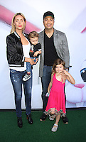 NEW YORK, NY-June 25: Heidi Balvanera & Jaime Camil with Family at Universal Pictures & Illumination Entertainment present the premiere of The Secret Life of Pets  at the  David H. Koch Theartre Lincoln Center in New York. NY June 25, 2016. Credit:RW/MediaPunch