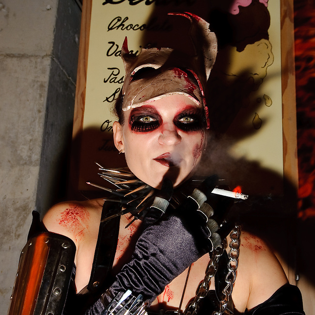 Susanne Bartsch Halloween party at The Standard, New York City.