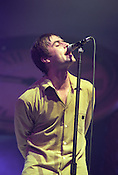 Oasis in Aberdeen, Scotland, in 1997..Rex 279153 JSU.