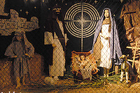 The Santa Monica Nativity Scene:Scene 7 The Nativity - St. Anne Catholic Church, on Tuesday, December 12, 2010.