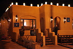North America, USA, New Mexico, Santa Fe. Inn of Five Graces Reception