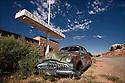 Utah-Route 66<br /> Cow Canyon les Twin-Rock
