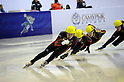 Takahiro Fujimoto (JPN), .JANUARY 31, 2011 - Short Track : .during the practice time during the 7th Asian Winter Games in Astana, Kazakhstan.  .(Photo by AFLO) [0006]
